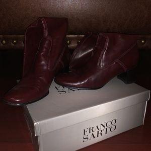 Franco Sarto Boots Booties Zip Ups